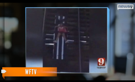 Woman Walks for Breast Cancer Awareness, Gets Stuck on Open Drawbridge