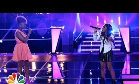 "Amber Nicole vs. Timyra-Joi: ""Listen"" - The Voice Battle Round"