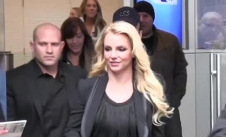 Britney Spears in London