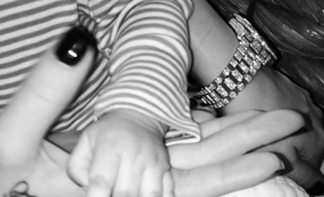 Khloe Kardashian Unveils Third North West Photo: So Cute!