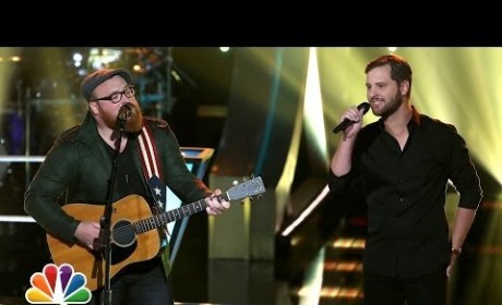 "Austin Jenckes vs. Brian Pounds: ""To Love Somebody"" - The Voice Battle Round"