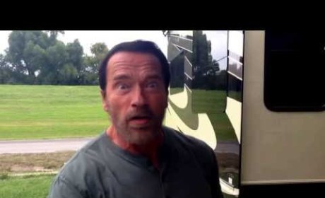 Arnold Schwarzenegger Recites Famous Movie Lines: He'll Be Back!
