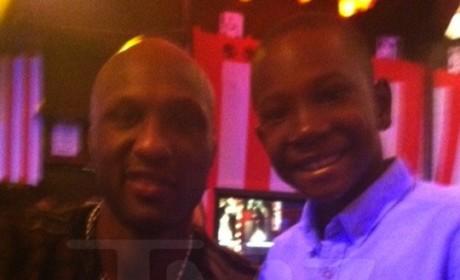 Lamar Odom Tells Young Fan: Don't Do Drugs!
