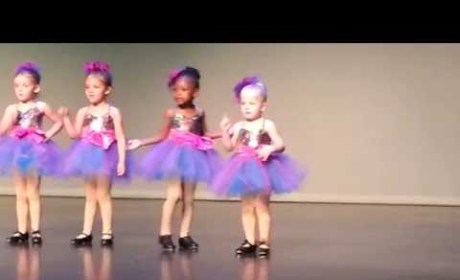Preschool Tap Dancer