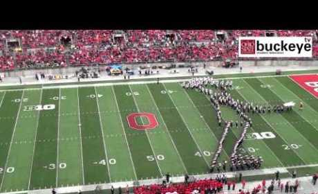 Ohio State Marching Band Michael Jackson Tribute