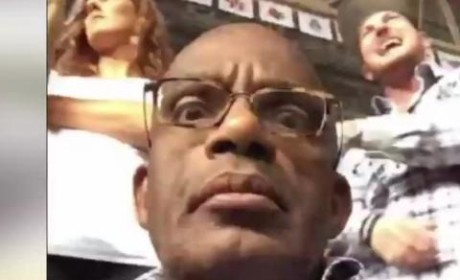 Al Roker Tweets Drake Concert Selfie, Is Officially Too Old