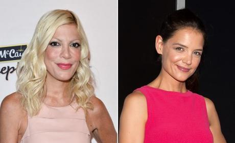 Tori Spelling: Katie Holmes is Plastic, Miserable, Can't Sing For S--t!