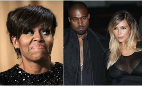 Kanye West: Kim Kardashian is More Influential Than Michelle Obama!