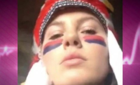 "Ireland Baldwin Dons Native American Halloween Costume, Lashes Out at ""Pathetic"" Critics"