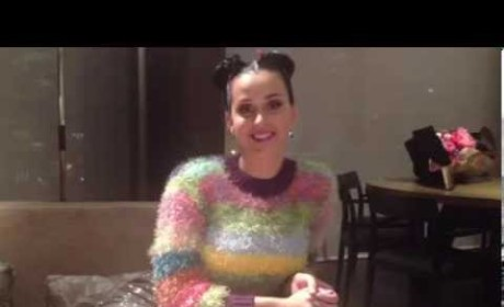 Katy Perry Message to Olivia Wise