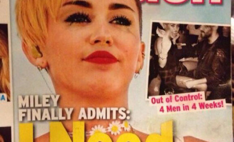 Miley Cyrus Mocks Tabloid Cover Story, Doesn't Believe She Needs Help