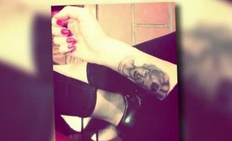 Miley Cyrus Honors Grandmother with New Tattoo