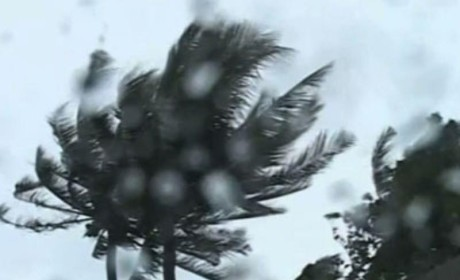Typhoon Haiyan Slams Central Philippines, Four Reported Dead