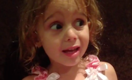 Little Girl Impersonates Kourtney Kardashian, Parents Hopefully Cower in Shame