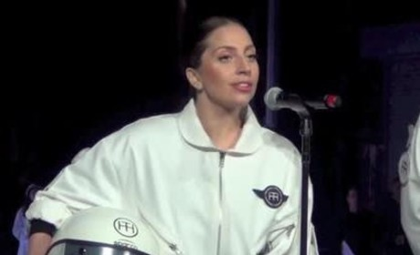 Lady Gaga, Flying Dress Celebrate ARTPOP Release: Watch Now!