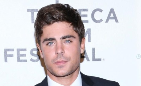 Zac Efron Breaks Jaw After Slipping in Puddle