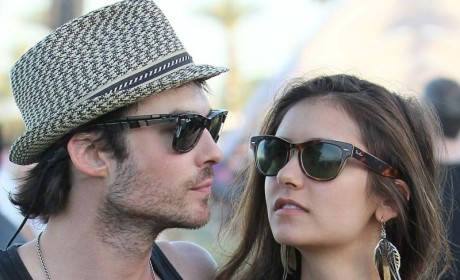 Nina Dobrev, Ian Somerhalder: Friends With Benefits?