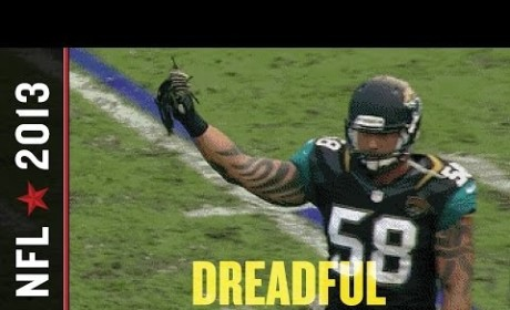 Jason Babin, Jacksonville Jaguars Defensive End, Pulls Out Opponent's Hair