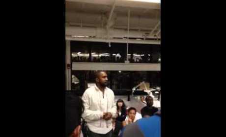 Kanye West Speaks at Harvard