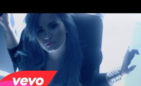 "Demi Lovato Debuts Music Video for ""Neon Lights"""
