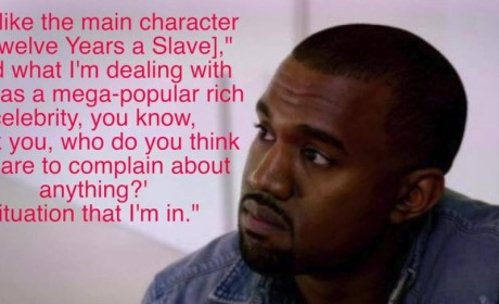 Kanye West Compares Himself to a Slave