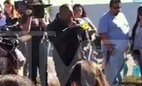 Tyrese Breaks Down in Tears at Paul Walker Crash Site: VIDEO