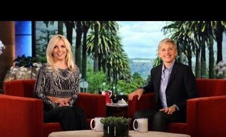 """Britney Spears, Clingy Girlfriend? Singer Talks """"Tiffy"""" With David Lucado on Ellen"""