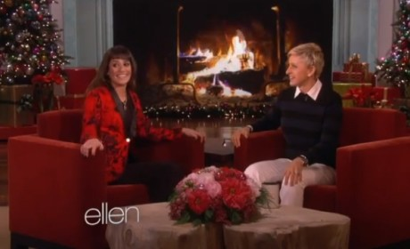 Lea Michele on Ellen