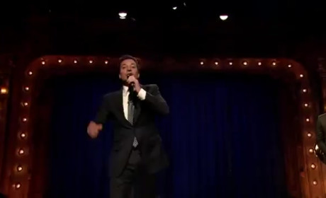 Jimmy Fallon and John Krasinski Hold Lip-Sync Contest