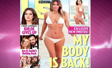 Kim Kardashian Bikini Pics: Definitely Airbrushed, Staged