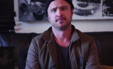 Aaron Paul Assists Couple with Engagement