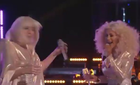 "The Voice Finale: Lady Gaga and Christina Aguilera Perform ""Do What U Want""!"