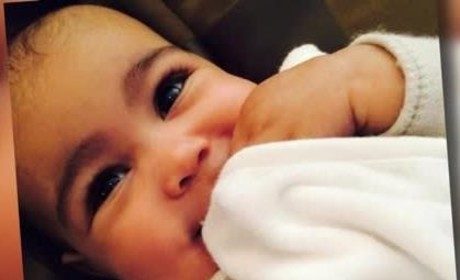 """Kim Kardashian Slams North West Eyebrow Waxing Rumor as """"Sick"""""""