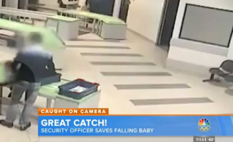 Airport Security Agent Catches Falling Baby: Report