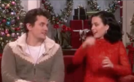 Katy Perry and John Mayer on Ellen