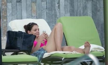 Katie Holmes Bikini Pics Heat Up Miami