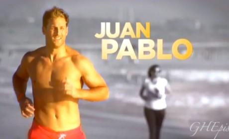 Juan Pablo on The Bachelor