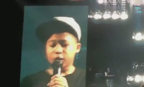12- Year Old Raps with Jay Z, Steals the Show