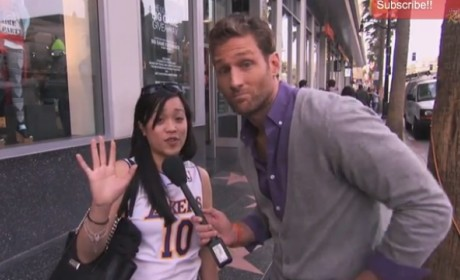Juan Pablo Galavis Asks Pedestrians: What Do You Think of The Bachelor?
