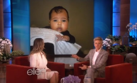 Kim Kardashian Talks Painful Pregnancy, Shows Off North West