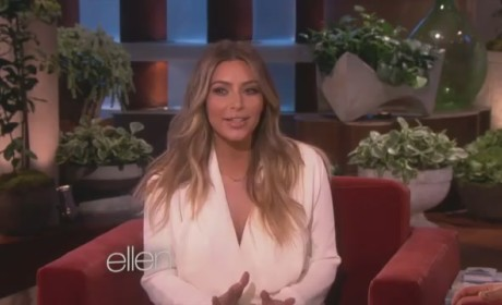Kim Kardashian Ellen Appearance Recap