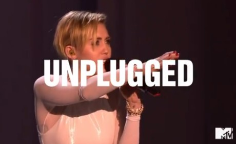 Miley Cyrus Unplugged Promo