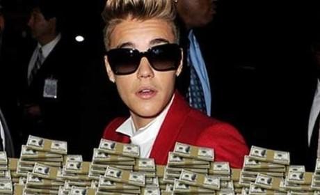 Justin Bieber Drops 75K at Strip Club