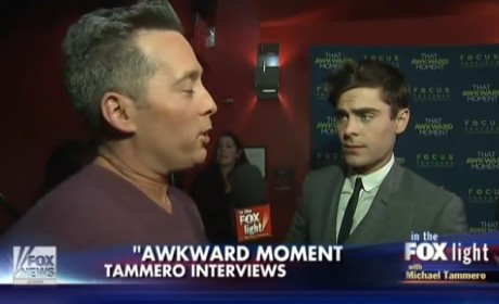 Zac Efron Throws Some Shade at Reporter