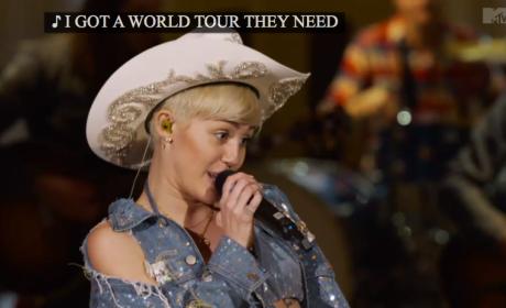 "Miley Cyrus Unplugged: ""Bangerz"""