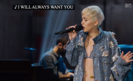 """Miley Cyrus Unplugged: """"Wrecking Ball"""""""