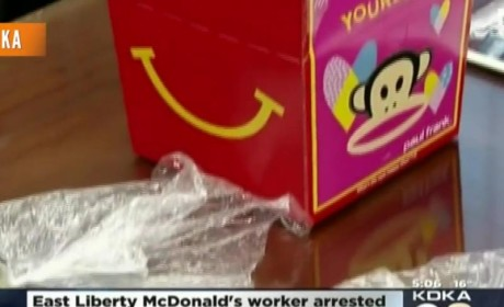 McDonald's Heroin Happy Meal Scandal: Employee Busted Dealing Out of Drive-Thru