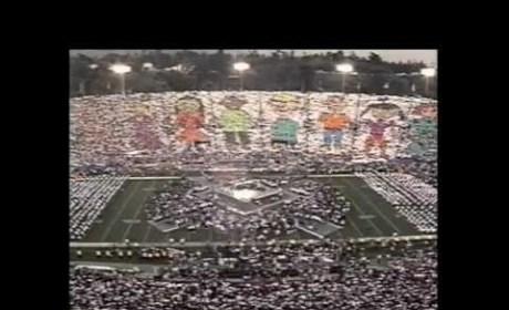 Michael Jackson Super Bowl XXVIII Halftime Performance