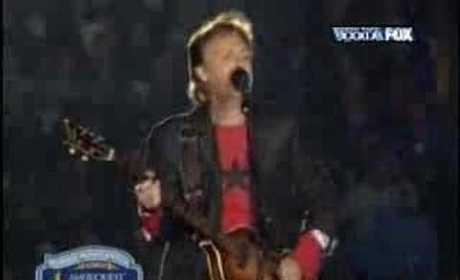 Paul McCartney Halftime Performance