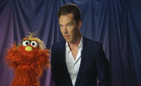 Benedict Cumberbatch Appears on Sesame Street: The Game Is On!